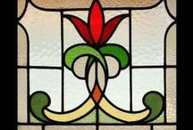 Stained glass designs / Vitrais