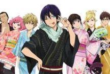 Noragami *o* / Anime and manga of Noragami.
