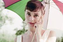 Audrey Hepburn / by Fiona O'Mahony