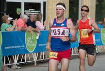 All-American 5K & Fun Run / This 5k race (3.1 miles) & Fun Run (1-Mile) is a summer family tradition, so make plans to join us on Father's Day. The GO! St. Louis All-American 5K & Fun Run presented by New Balance St. Louis, promises to be pure All-American fun, complete with Apple Pie and Ice Cream, and is open to all ages and fitness abilities. The flat-downhill 5k course will be ideal for those athletes looking for a new PR (personal record) on a scenic neighborhood course. This race sells out, so register early! / by GO! St. Louis