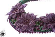 My beadwork / Heidi Peltomaa Handmade beaded jewelry