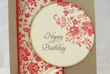 Birthday cards / Cartões de aniversário / Ideas for birthday cards