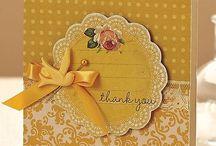 Thank you cards / Cartões de agradecimento