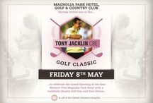 The Tony Jacklin CBE Golf Classic Celebrity Am on Friday 8th May 2015 / Annual Golf Day at Magnolia Park, this year in aid of Oxford Children's Hospital