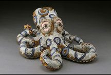 Beaded sculptures