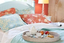 All about the bedroom... / Beds, headboards, colors and bedspreads / by Tracey Taylor