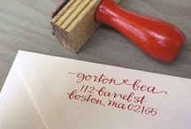 Wedding Stationary / by Hezelyn Lopez