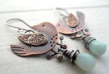 EARRINGS...handmade and beautiful! / Earrings, Handmade earrings, handmade jewelry