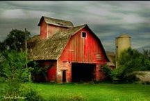 Just barns / by Marcie Goforth Wood