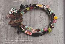 KIMONO/CHIRIMEN cord / Fabric cording from Japan
