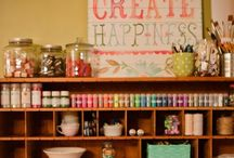 Crafty Spaces / by Sherri Everett Thompson