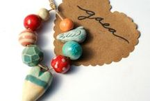 FAV ARTISAN: GAEA / Gaea Cannady's handmade ceramic beads and pendants, handmade ceramic beads and findings, ceramic artists