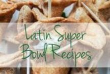Super Bowl Sunday Eats / Gather 'round the TV (and the table) for the best snacking Sunday of the year – Super Bowl Sunday! Here, get the best Latin game time snacks for the whole crowd.  / by Latina Magazine