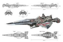 Concept Art: Vehicles & Ships / Cool concept art for vehicles, space ships etc. / by Haydn Dalton