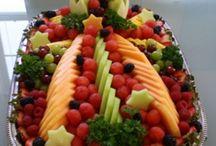 BUFFETS/Celebrations / Buffet style set ups / by Sara Kovach