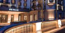 Pik Palace, Azerbaijan / Project of neolight global showcasing the lighting design for Pik Palace Hotel, Azerbaijan http://www.neolightdesign.com/pik-palace