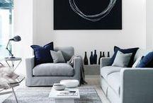 Pièces à vivre - Living room I ♡ / Des lieux de vie inspirants, uniques, chics ou harmonieux... On aime et on s'y sent bien, tout simplement.
