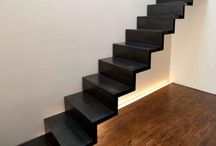 Escaliers - Staircase I ♡ / Des escaliers ultra-design ou anciens, légers ou colorés. De quoi donner des idées / by Murs et Merveilles by Marie