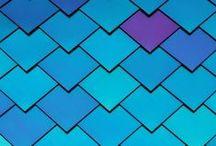 Bleu - Blue / Des images en bleu, que je trouve belles et qui m'inspirent...