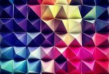 Couleurs vives - Bright colors / Palettes de couleurs vives et toniques, photos multicolores inspirantes, contrastes forts | Colorful, tonic, bright, vivid, contrasted colours