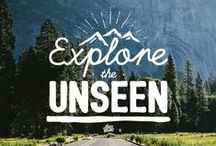 Explore the Unseen! / Landscapes, wonderful towns, exploration and camping hacks!