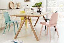 Scandinavian Style / Des intérieurs aux tons doux et neutres, du bois clair, des lignes épurées, une élégance simple, une ambiance apaisante.  Scandinavian inspiration interiors