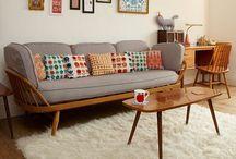 """Vintage Style / Ambiances et mobilier d'inspiration vintage, essentiellement 50's mais pas seulement - un vintage """"originel"""" ou revisité, mais toujours de bon goût."""