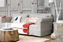 Ecolo chic style / Natural, ecolo-chic inspiration for interior design