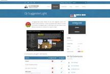 DJ-SuggesterLight / DJ-SuggesterLight plugin displays the box with suggested content from Joomla! articles component. It shows up smoothly when website is scrolled to the bottom. DJ-SuggesterLight is a FREE plugin with basic features. More features come with our commercial DJ-Suggester plugin.