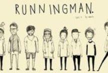 Runningman ♥ / Yoomes Bond - Sparta Kook - Haroro - Lolol Gary - Ace Mong Ji - Giraffe - Big Nose  Don't walk !! RUN !!