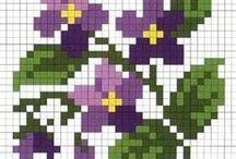 26_křížky_květiny