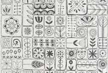 Doodling+Zentangl+Lettering
