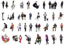 cutout people