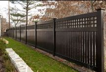 FenceGuides - Vinyl Fencing / Some lovely Vinyl fencing ideas which you may love for your home. A maintenance-free alternative to all garden fencing types and styles.