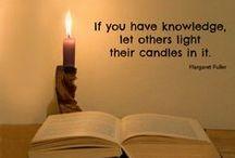 Share your knowledge / Een verzameling van citaten die mooi aansluiten bij het gedachtegoed van Theater Buitensoos: van elkaar leren!