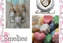 Smellies / Een nieuw product bij Feelingsonline. Smellies. Een geursensatie voor je huis.