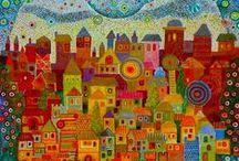 Värikästä taidetta / Colourful Art