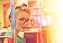Woman's Hipster Glasses Fashion and Style / Unique, Classic Frames. Get a pair of glasses that is unique to you and your personality. Our staff will fit you with the perfect frames to match your fashion and personality.