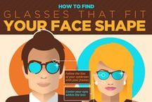 Choosing the Right Glasses For Your Face Shape. / Come into our office and our staff will help you choose glasses that fit you and your unique personality. Frames for every occasion that you will love wearing every day.