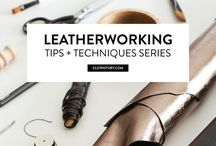 Leather Handicraft / Leather techniques, projects, art of leather, handmade