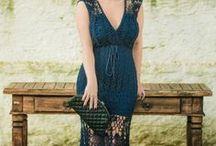 синее платье Клаудии