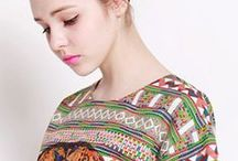 2013 Spring & Summer / Inspired by INCA culture, Dolly & Molly presents you a summer that full of colors, Prints of mysterious region.  Refreshing your mind with a different feel from the world.
