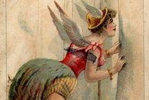 DIY Vintage Circus / Circus, Theatre, Masquerade, Carnival, Harlequin, Pierrot