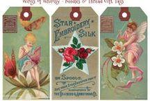 DIY Vintage Tags