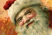 DIY Vintage Santa