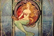 DIY Vintage Mermaid / Vintage ONLY: mer-people, sirens, water nymphs, water fairies and water babies.
