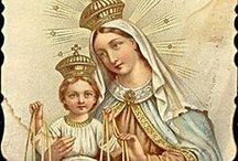 DIY Vintage Holy Cards