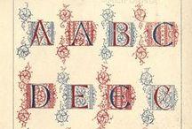 DIY Vintage Alphabet