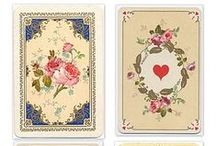 DIY Vintage Playing Cards