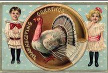 DIY Vintage Thanksgiving
